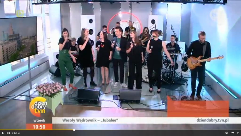 Wesoły Wędrownik w Dzień Dobry TVN - Gabriela Blacha