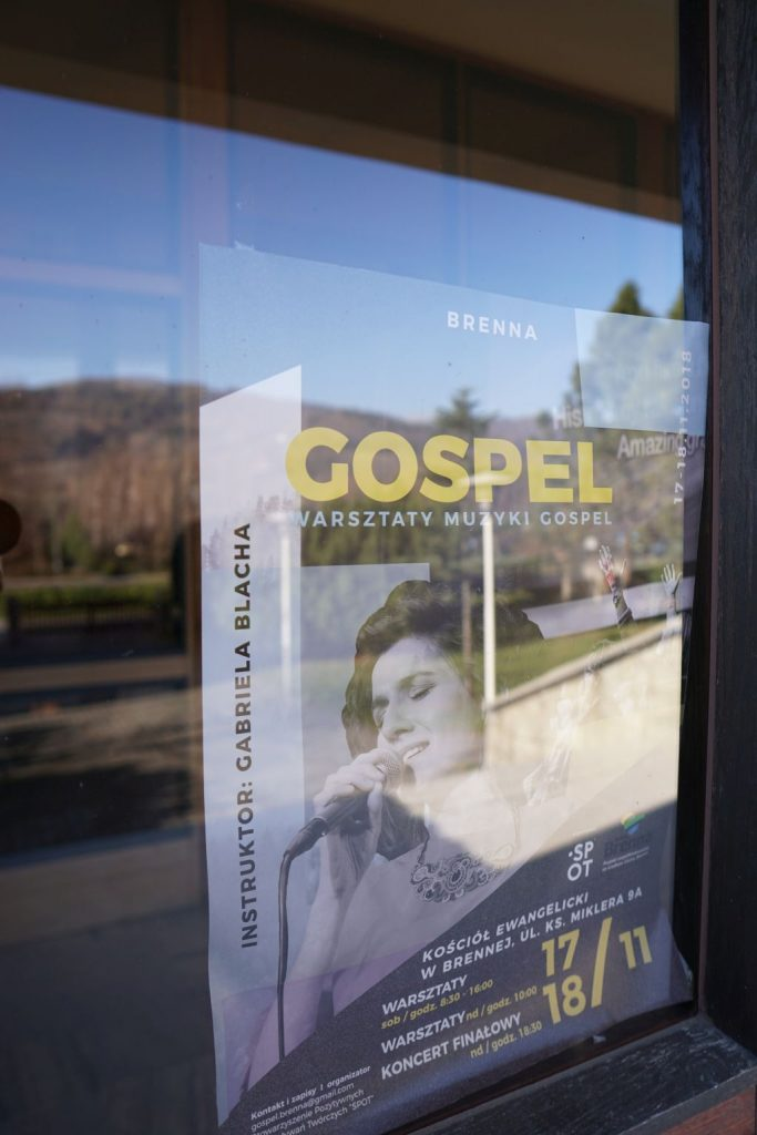 Gabriela Blacha - Warsztaty Gospel - Brenna 2018
