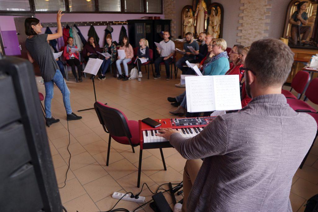 """Gabriela Blacha i Łukasz """"Forest"""" Piechota - Warsztaty Gospel - Opole 2019"""
