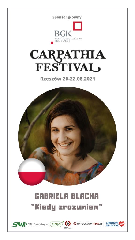 Gabriela Blacha - Festiwal Carpathia 2021